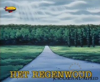 Alfred J. Kwak - Aflevering 51: Het Regenwoud - Forests of fuel - Der Regenwald - Piti� pour la for�t