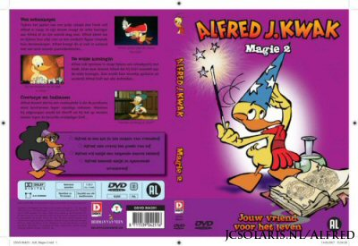 Alfred J. Kwak - Disky DVD Magie 2 cover
