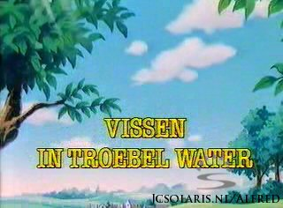 Alfred J. Kwak - Aflevering 14: Vissen In Troebel Water - Let's Find the Sawfish - Skrupellose Gesch�fte - Comme  des poissons dans l`eau