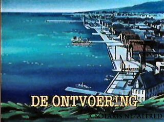 Alfred J. Kwak - Aflevering 37: De Ontvoering - An Invitation from the Prince - Die Entf�hrung - Un voyage mouvement� -  Alfred Jodocus Kwak