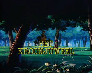 Alfred J. Kwak - Aflevering 3: Het Kroonjuweel - The Ruby of the Crown - Hinter Gittern - Le rubis de la couronne