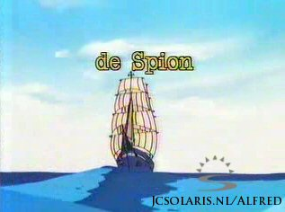 Alfred J. Kwak - Aflevering 8: De Spion - Sea Scouts, Part 2 - Der Spion - La course